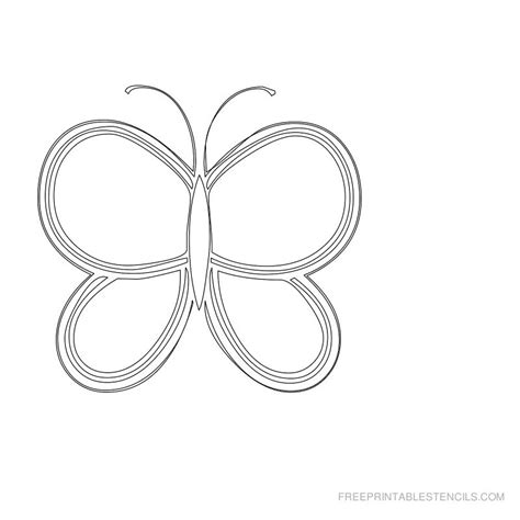 Butterfly Stencils Printable
