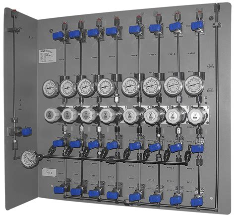 Panel Gas The Flexgas Valve Manifold Panel Sdc 174