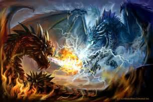 battle fire cold lightning felisglacialis deviantart