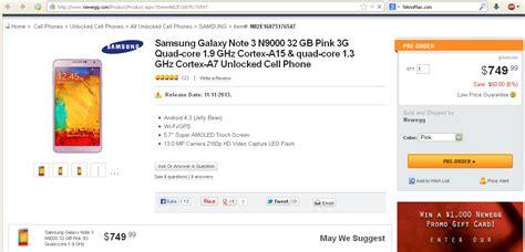 Harga Samsung Note 8 Pre Order harga pre order samsung galaxy note 3 warna pink dibandrol
