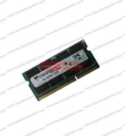 ram laptop ddr3 venom 4gb