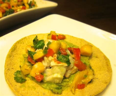 Lobster Pk soft lobster tacos with mango salsa recipe pk newby