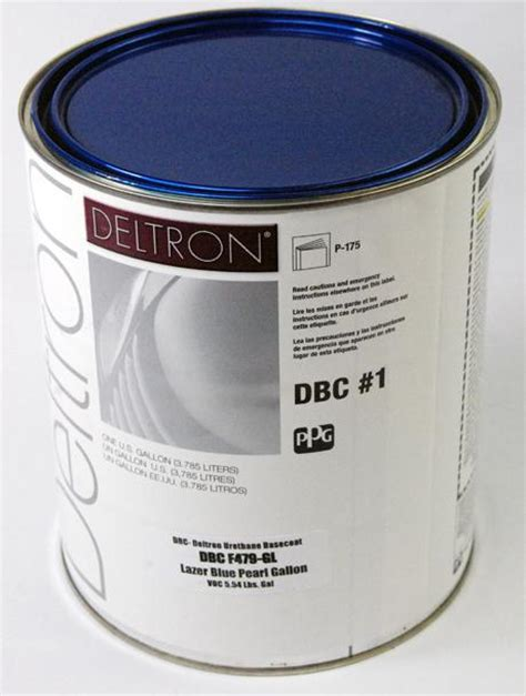 sell ppg dbc deltron basecoat lazer blue pearl gallon auto paint motorcycle in san diego