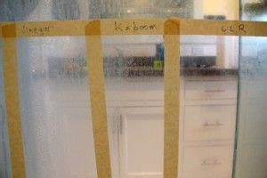 guy tests  cleansers  grimy shower doors results