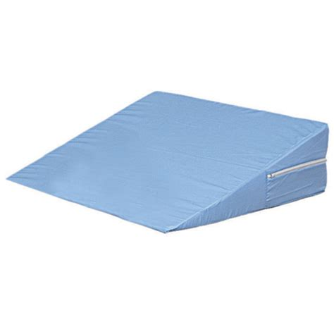 mabis dmi healthcare ortho bed wedge pillow 10 quot x 20 quot x 30 1 2 quot extra large blue cover buy mabis dmi foam bed wedge blue 10x24x24 shop online