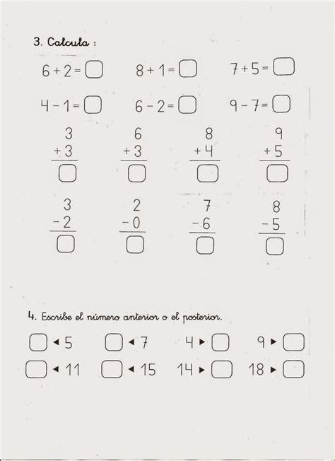 matemticas 1 primaria mi blog sobre tdah examen de matem 193 ticas para 1 186 de primaria adaptado a tdah