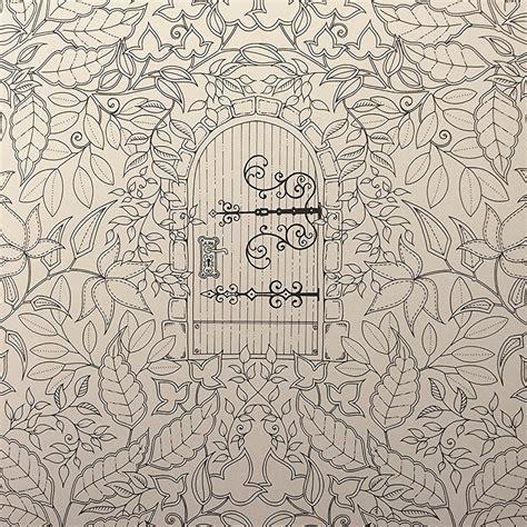 secret garden coloring pages completed secret garden colouring book gemma oh