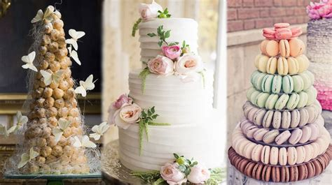 Different Types Of Wedding Cakes by 4 Amazing Types Of Wedding Cakes
