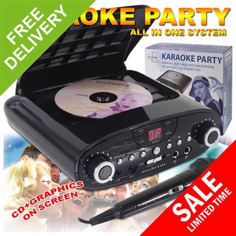 cdg format karaoke new cdg karaoke machine mp3 player system christmas kids
