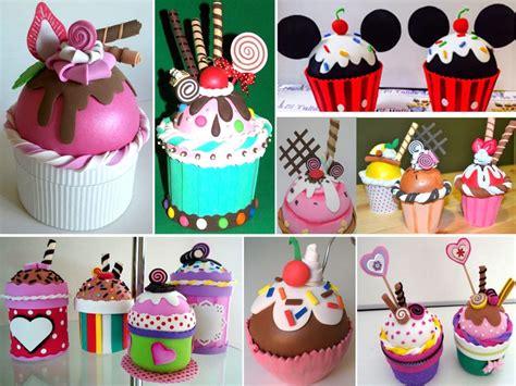 como decorar cupcakes letras manualidades en goma eva para cumplea 241 os
