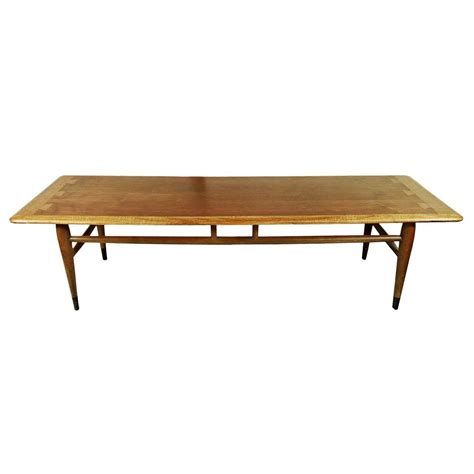 Mid Century Modern Lane Acclaim Series Dovetail Coffee Dovetail Coffee Table