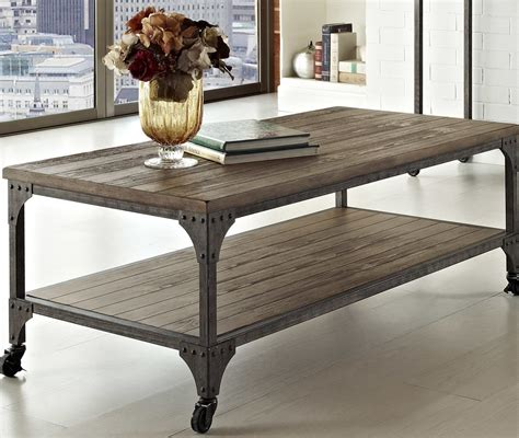 industrial coffee table design images  pictures