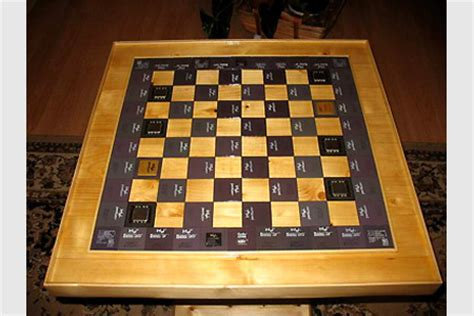 coolest chess boards 100 coolest chess boards the coolest science