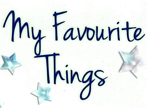 my favorite my favourite things 171 j k rowbory