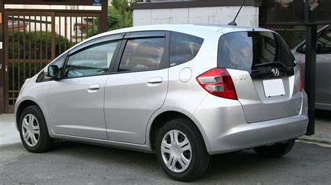 Honda Fit Wiki by File 2nd Generation Honda Fit Rear Jpg Wikimedia Commons