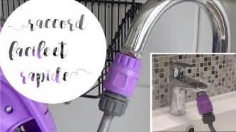 raccorder un tuyau d arrosage sur un robinet d 233 vier ou de