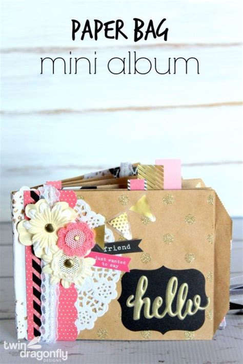 Paper Bag Warna Mini Bc paper bag mini album mini scrapbook albums scrapbook and minis
