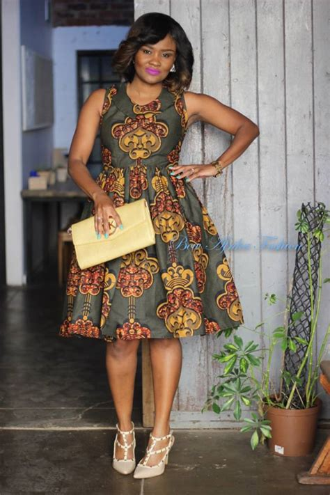 trending ladies fashion kenya the ankara fit and flare styles that works for all events