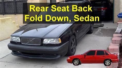rear seat    fold  volvo    votd youtube