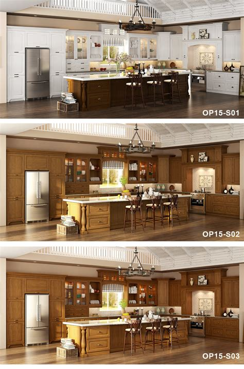 chinese kitchen cabinets formaldehyde china classic l shape oak solid wood kitchen cupboard