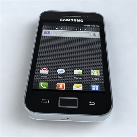 format video samsung galaxy ace samsung galaxy ace s5830 3d model