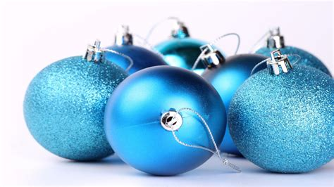 blue christmas balls wallpaper 8060