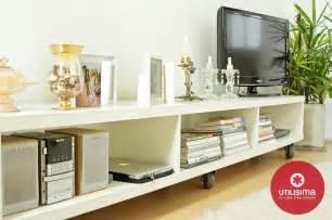 mueble bajo  tvaudio grandes ideas espacios