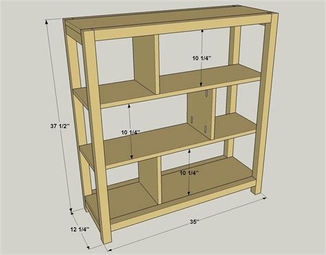 easy to build bookcase buildsomething