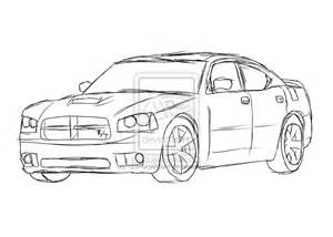 Dodge Charger Coloring Pages dodge charger coloring pages only coloring pages