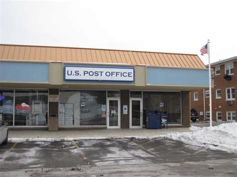 Plaine Post Office by Rosemont Illinois Post Office Post Office Freak
