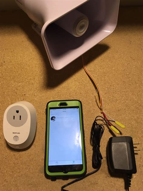 Horn Alarm Mobil how to install a wi fi controlled 120db alarm siren hometheaterhifi