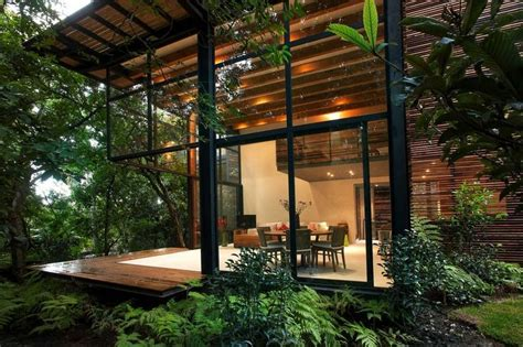 modern jungle house architectural trip