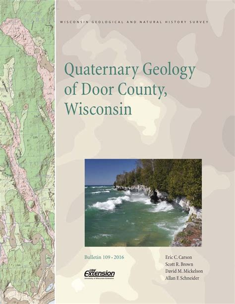wisconsin geological history survey 187 quaternary