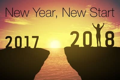 new year 2018 when does it start and end how to start fresh in the new year thriveology