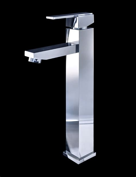 Chrome Bathroom Fixtures Treviolo Chrome Finish Modern Bathroom Faucet