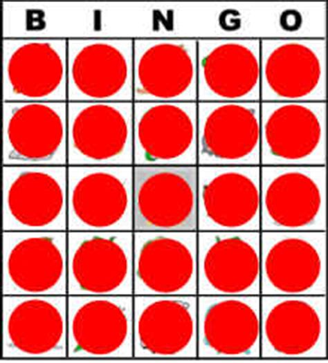 Printable Bingo Chips