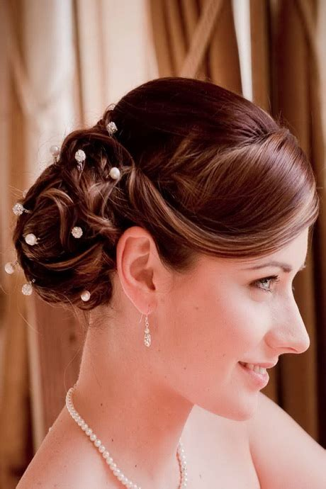 latest wedding hair style for rebonded hair latest hairstyles for brides