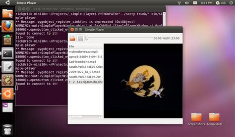quickly tutorial ubuntu application the raving rick quickly tutorial for natty diy media player