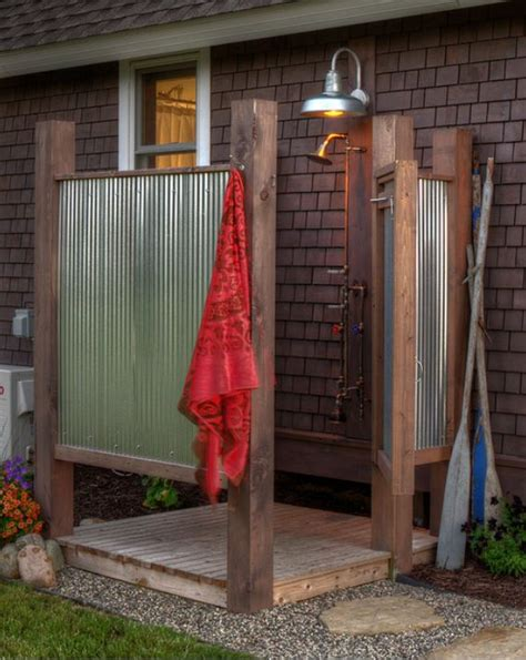 cottage outdoor shower outdoor shower cottage