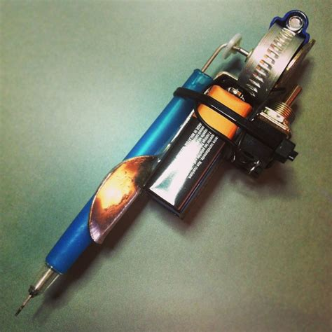 homemade tattoo gun tattoo popsugar 1000 images about guns on