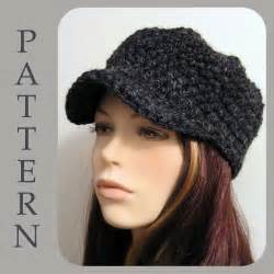 Crochet newsboy hat pattern free easy crochet patterns crochet