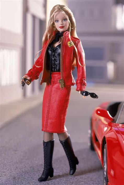 barbie ferrari ferrari barbie 174 doll 2 2001 in a barbie world pinterest