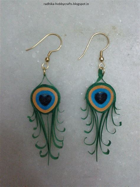 quilling paper earrings tutorial video 14 best photos of peacock paper quilling tutorial frame
