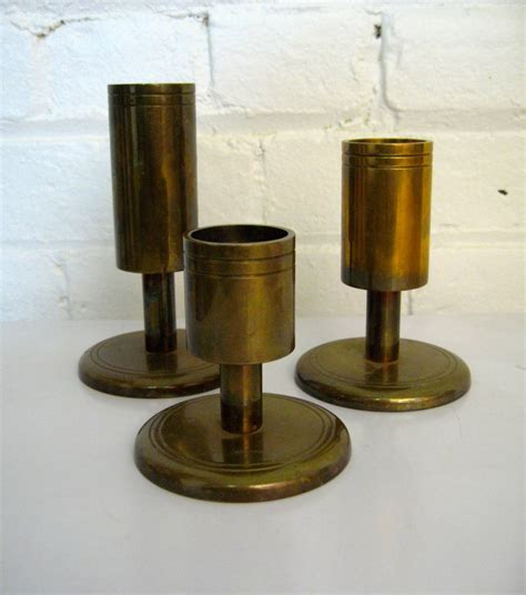 Tiered Candle Stand Modern Dan Present Tiered Brass Candle Holders At