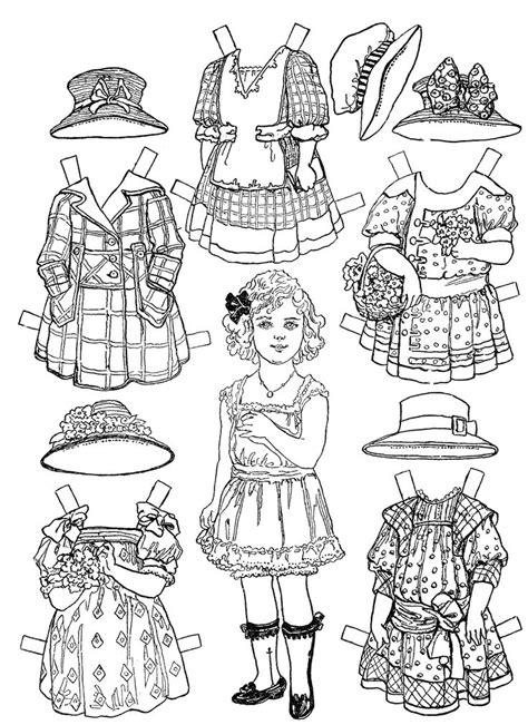 vintage coloring pages pdf 17 best ideas about victorian paper dolls on pinterest