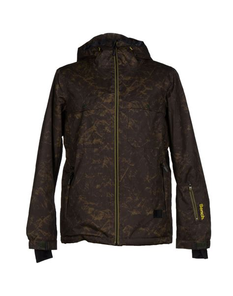bench jackets for men bench jacket in green for men lyst