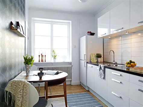 white small apartment kitchen interior design ideas