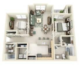 50 Two Quot 2 Quot Bedroom Apartment House Plans Architecture