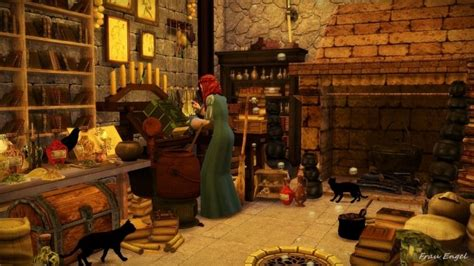 witch house  frau engel sims  updates