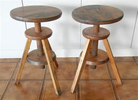 from log to keyboard stools timber wind up piano stools discovered on ebay rustic